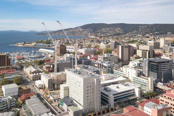 Hobart-Aerial
