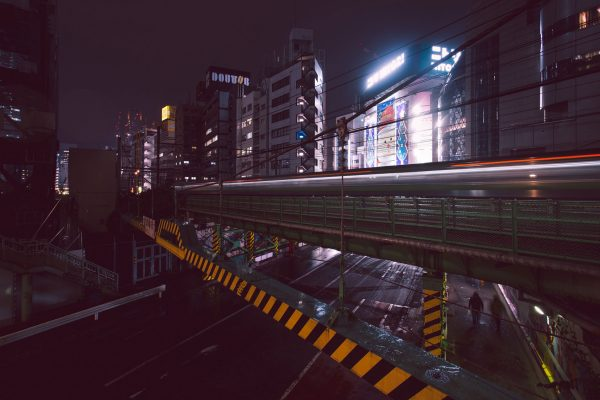 Shibuya-Trains